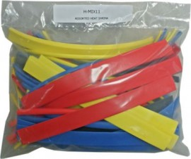 Assorted Coloured Heatshrink Tubing